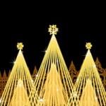 クリスマスデートをイルミネーションで関西では?スポットの動画を見たい!