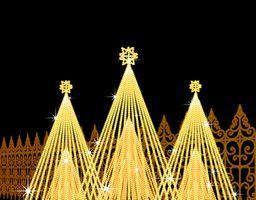 クリスマスデート イルミネーション