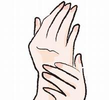 手指がぱっくり