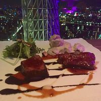 スターライトガーデンを見れるレストラン