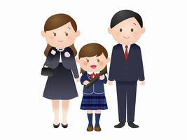 卒園式と入学式 ママのスーツ