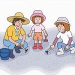 潮干狩りの持ち物リスト!子供連れであると便利なものは?